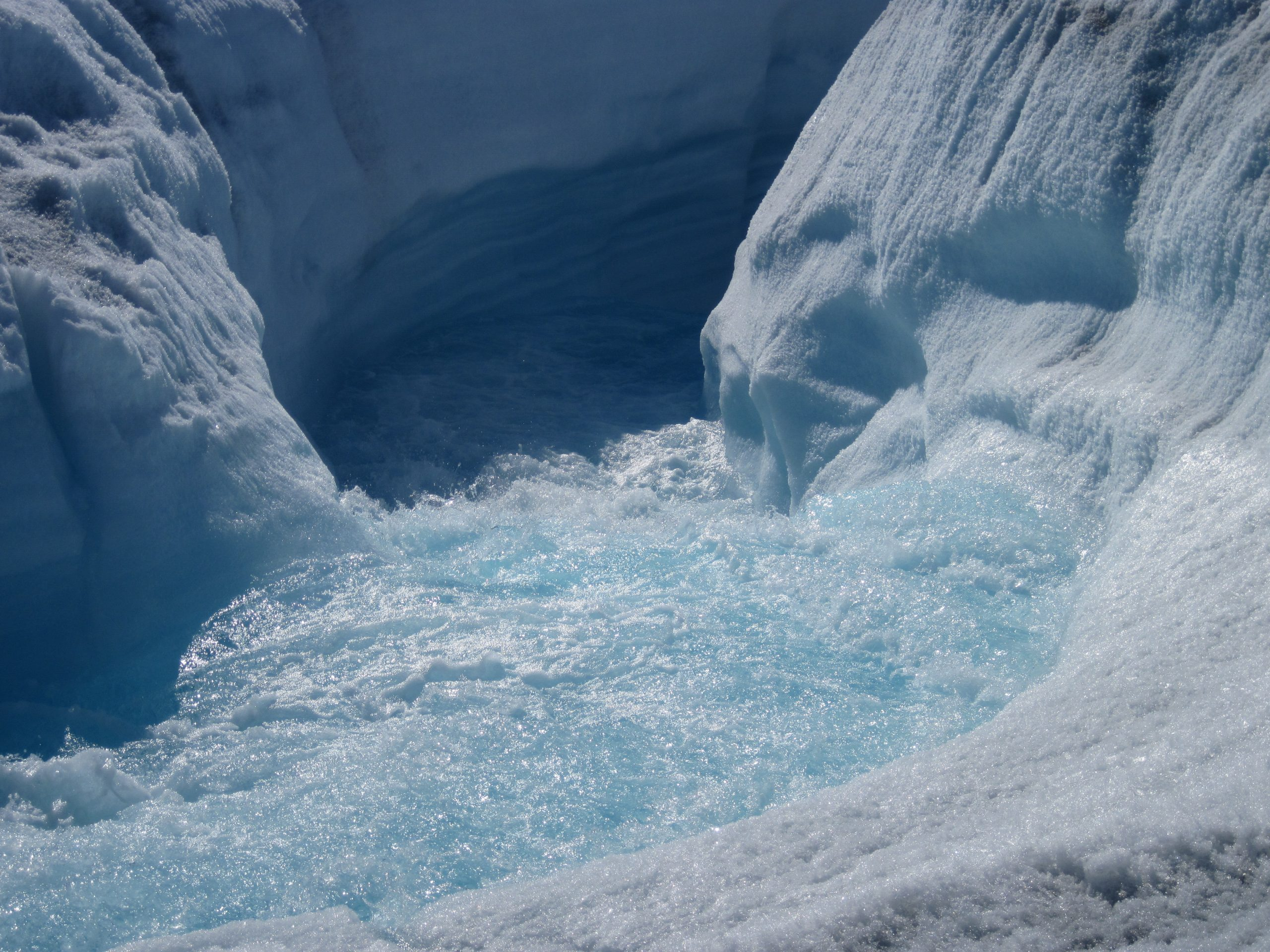 Meltwater in Greenland